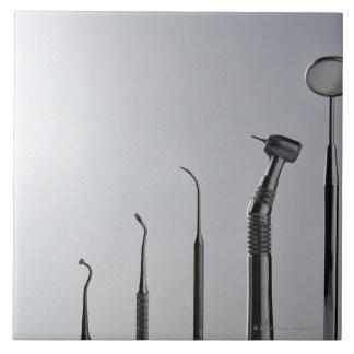 Dentist's instruments tile