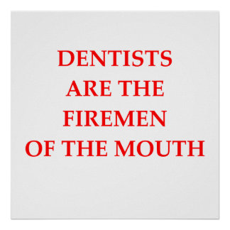 dentists posters