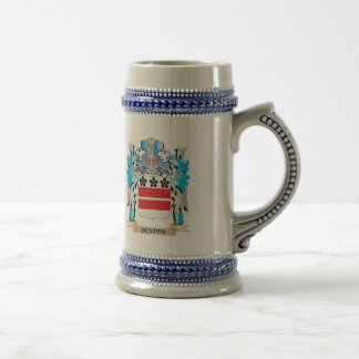 Denton Coat of Arms - Family Crest Beer Steins