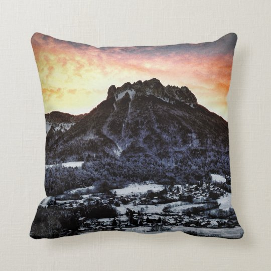 Dents de Lanfon, French Alps Cushion