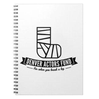 Denver Actors Fund Gifts Notebook