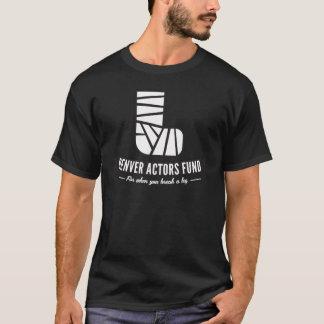 Denver Actors Fund Logo T-Shirt