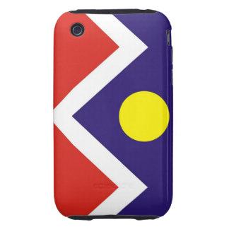 denver american city flag case iPhone 3 tough cover