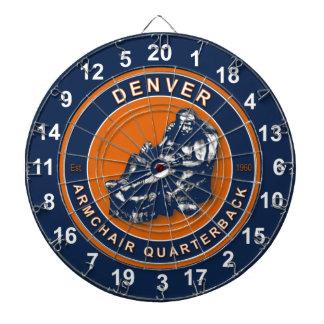 Denver Armchair Quarterback Football Dartboard