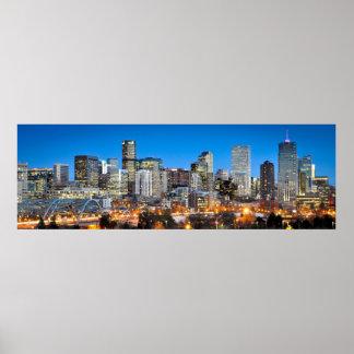 Denver At Twilight Poster