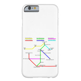 Denver Bike Map Smartphone Case