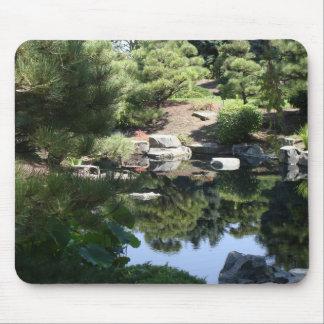 Denver Botanic Japanese Garden Reflections Mouse Pad