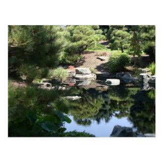 Denver Botanic Japanese Garden Reflections Postcard