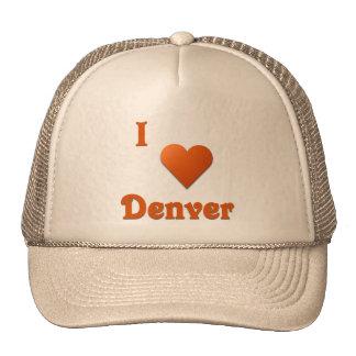 Denver -- Burnt Orange Mesh Hat