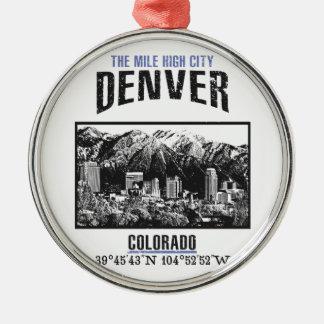 Denver Christmas Ornament