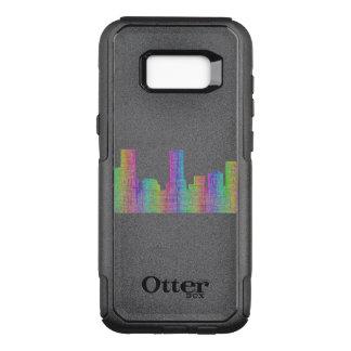 Denver city skyline OtterBox commuter samsung galaxy s8+ case