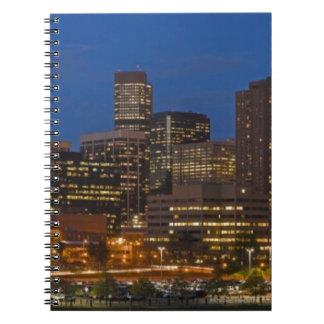 Denver Cityscape Notebook