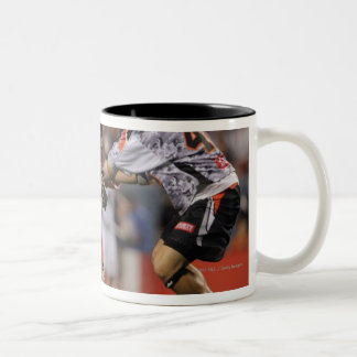 DENVER, CO - JULY 16:  Jordan Levine #41 4 Two-Tone Coffee Mug