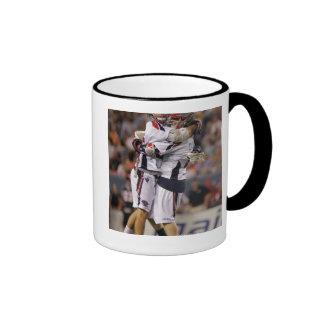 DENVER, CO - JULY 30:  Brad Ross #10 and Max 2 Coffee Mug