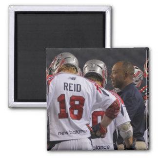 DENVER, CO - JULY 30:  Head coach Bill Daye (2R) Fridge Magnets
