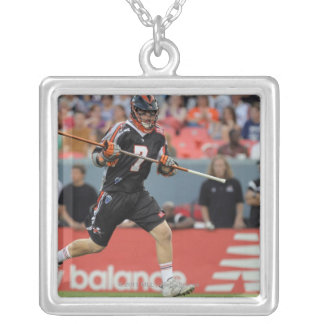 DENVER, CO - JULY 30:  Matt Bocklet #7 Silver Plated Necklace