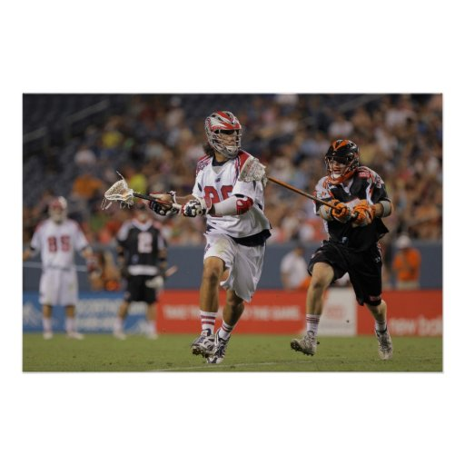 DENVER, CO - JULY 30:  Paul Rabil #99 3 Posters
