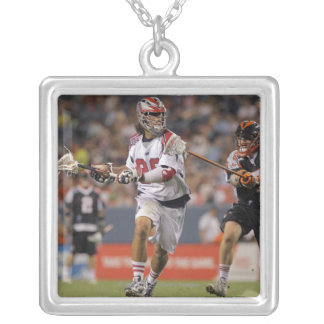 DENVER, CO - JULY 30:  Paul Rabil #99 3 Silver Plated Necklace