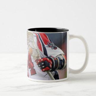 DENVER, CO - JULY 30:  Ryan Boyle #14 Two-Tone Coffee Mug