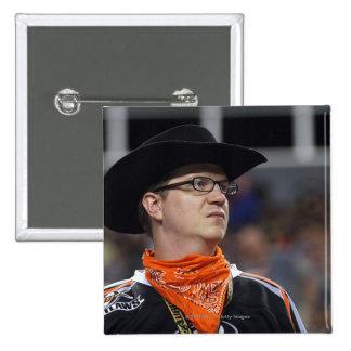 DENVER, CO - JULY 3: A Denver Outlaws fan didn't 15 Cm Square Badge