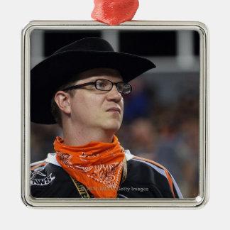 DENVER, CO - JULY 3: A Denver Outlaws fan didn't Christmas Ornament