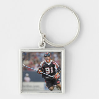 DENVER, CO - JULY 3: Dillon Roy #91 2 Silver-Colored Square Key Ring