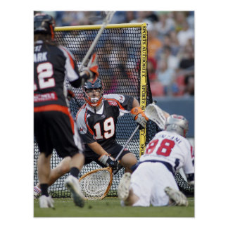 DENVER, CO - JULY 3: Goalie Jesse Schwartzman 2 Poster