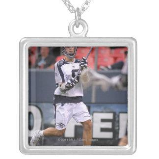 DENVER, CO - JUNE 11: Danny Glading #9 Silver Plated Necklace