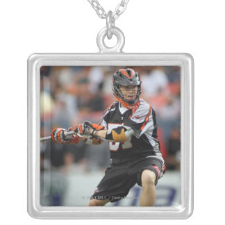 DENVER, CO - JUNE 11: Peet Poillon #57 Silver Plated Necklace