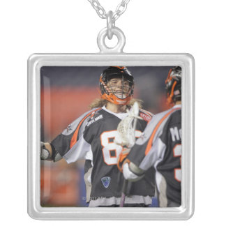 DENVER, CO - JUNE 25:  Connor Martin #88 Silver Plated Necklace