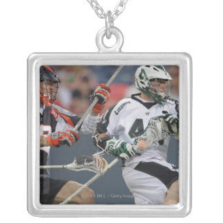 DENVER, CO - JUNE 25:  Matt Danowski #40 Silver Plated Necklace