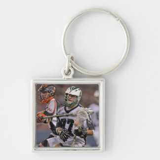 DENVER, CO - JUNE 25:  Mike Unterstein #77 Silver-Colored Square Key Ring
