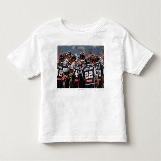 DENVER, CO - JUNE 25:  The Denver Outlaws huddle T Shirts