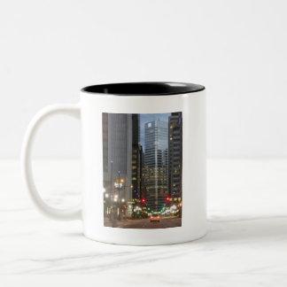 Denver, Colorado - A Mile High City Two-Tone Coffee Mug