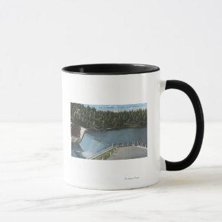 Denver, Colorado - Dam at Evergreen Lake View Mug
