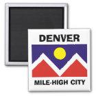 Denver, Colorado Flag Magnet