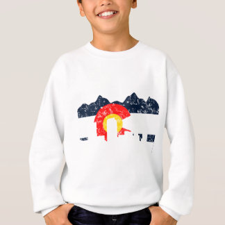 Denver Colorado Flag Sweatshirt