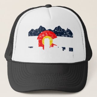 Denver Colorado Flag Trucker Hat