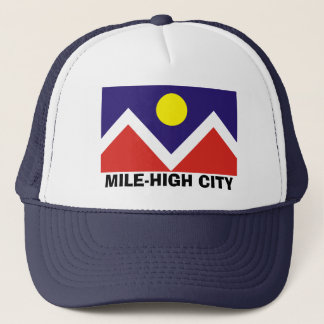 Denver, Colorado Flag Trucker Hat