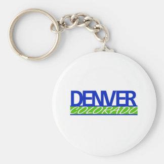 Denver Colorado Keychain