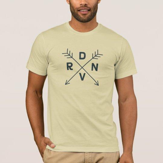 Denver, Colorado Navy Blue Cross Arrow Shirt