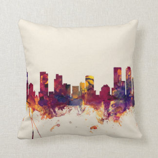 Denver Colorado Skyline Cushion