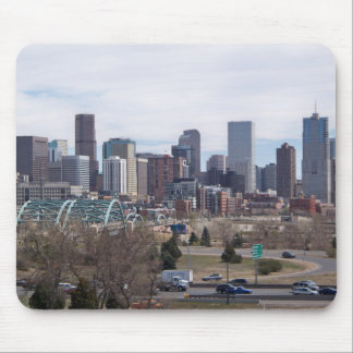 Denver, Colorado Skyline Mousepad
