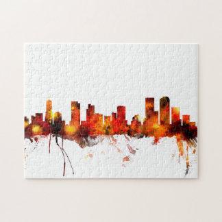 Denver Colorado Skyline Puzzles