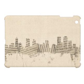Denver Colorado Skyline Sheet Music Cityscape Cover For The iPad Mini