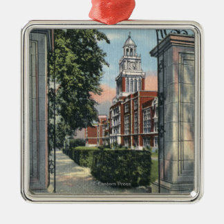 Denver, Colorado - Vista of East High School Christmas Ornament