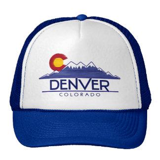 Denver Colorado wood mountains hat