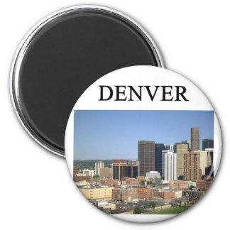 DENVER colordo 6 Cm Round Magnet