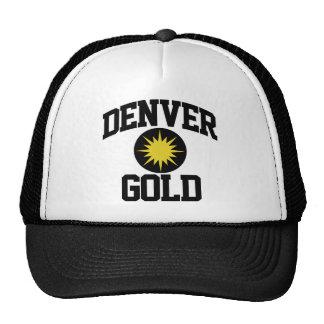 Denver Gold Trucker Hat