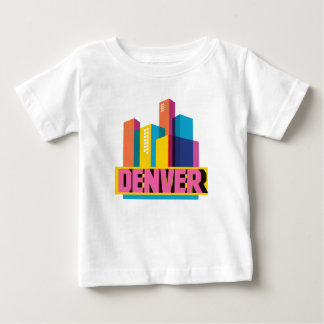 Denver In Design Baby T-Shirt